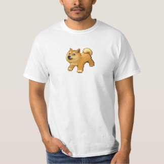 Pixel Dogemon de Pokemon del dux Camiseta