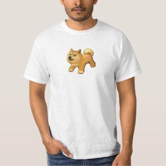Pixel Dogemon de Pokemon del dux Camisetas