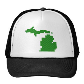 Pixel Michigan Gorro De Camionero