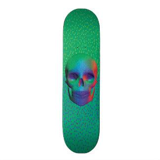 Pixel Skull v.1 Skateboard Deck Monopatín 18,7 Cm