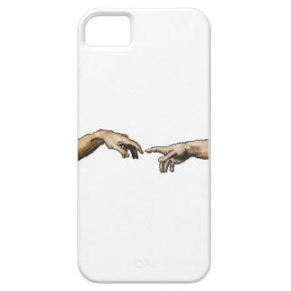 """Pixelated """"la creación caso de Adán"""" Funda Para iPhone SE/5/5s"""