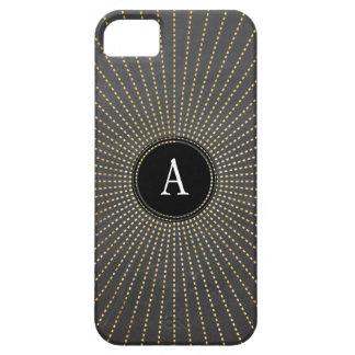 Pizarra ATRACTIVA del resplandor solar del art iPhone 5 Case-Mate Carcasa
