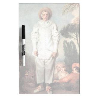 Pizarra Blanca ANTOINE WATTEAU - Pierrot (Gil) 1718