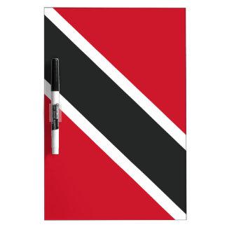 Pizarra Blanca Bandera de Trinidadtobago