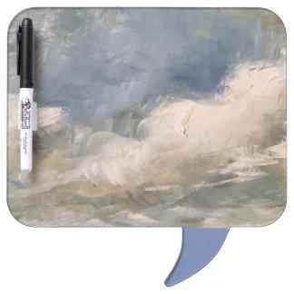 Pizarra Blanca Borrado seco de la pintura del pensamiento de la