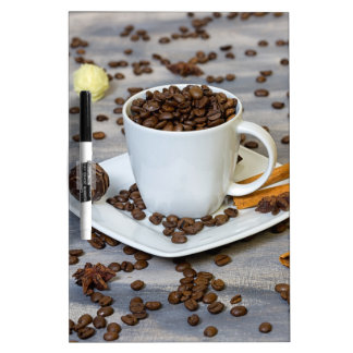 Pizarra Blanca Café y especias