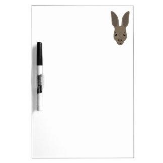 Pizarra Blanca Cara del canguro