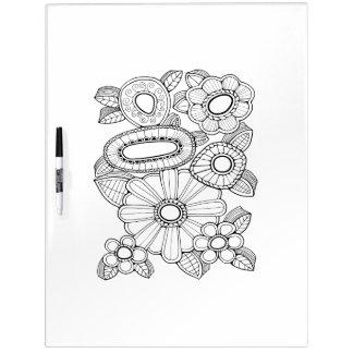 Pizarra Blanca Colorante floral del adulto del aerosol cinco