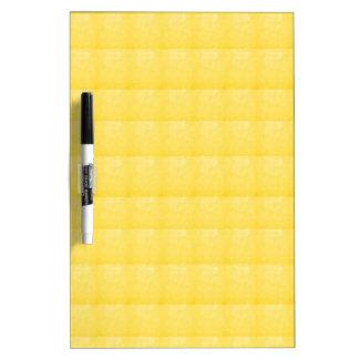Pizarra Blanca CRISTAL amarillo de la chispa - REGALOS de los SAL