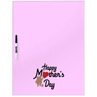 Pizarra Blanca Día de madres feliz Zg6w3