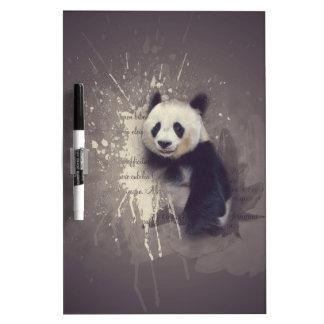 Pizarra Blanca Extracto lindo de la panda