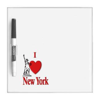 Pizarra Blanca I amante NY