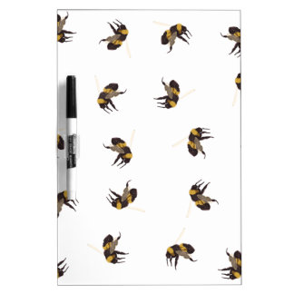 Pizarra Blanca Manosee las abejas