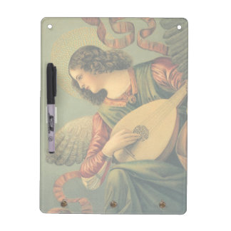 Pizarra Blanca Músico del ángel, Melozzo DA Forli, arte
