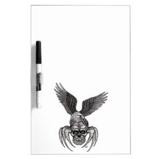 Pizarra Blanca Spiderskull con Eagle
