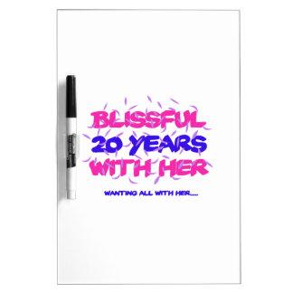 Pizarra Blanca Tender los vigésimos diseños del aniversario de la
