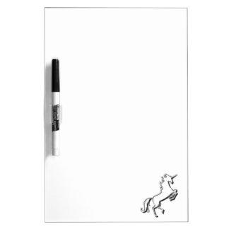 Pizarra Blanca Unicornio