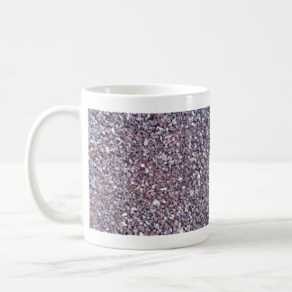 Pizarra de la piedra caliza del ciruelo taza clásica