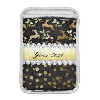 Pizarra de los diamantes del confeti de los funda para iPad mini