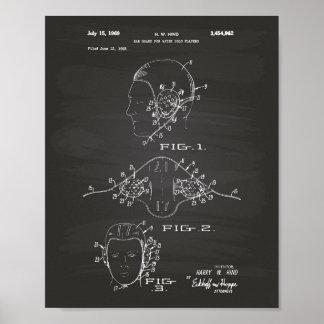 Pizarra del arte de la patente del water polo del