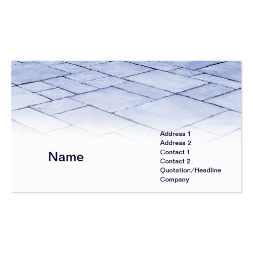 pizarras azules plantillas de tarjeta de negocio