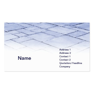pizarras azules tarjetas de visita