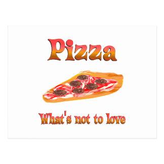 Pizza a amar postal
