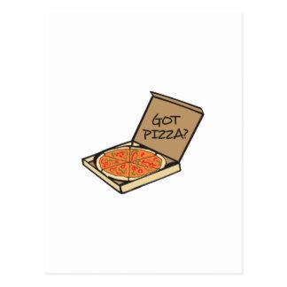 PIZZA CONSEGUIDA POSTAL