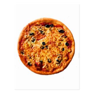 Pizza de la combinación postales