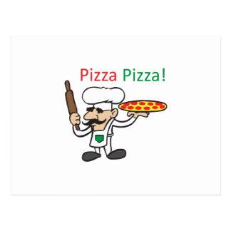 PIZZA DE LA PIZZA POSTAL