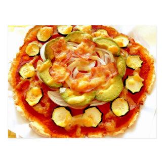 Pizza de la pulpa de la soja (Okara) por MOCHIDA Postal