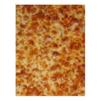 Pizza de queso postal