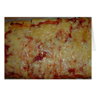Pizza de queso felicitacion