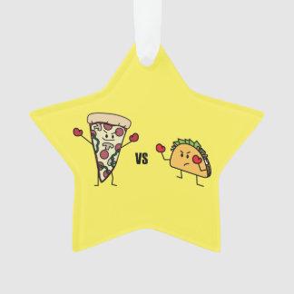 Pizza de salchichones CONTRA el Taco: Mexicano Adorno