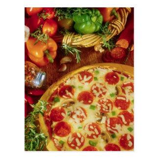PIZZA DE SALCHICHONES DE LA POSTAL