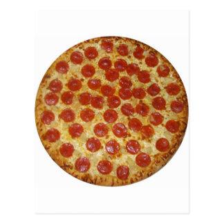 Pizza de salchichones postal