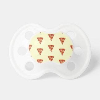 Pizza del bebé chupetes para bebes