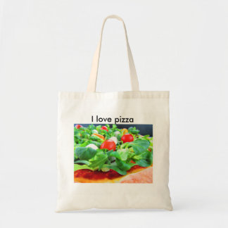 pizza del borsa bolso de tela