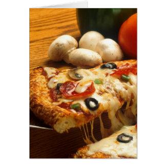 Pizza deliciosa felicitaciones