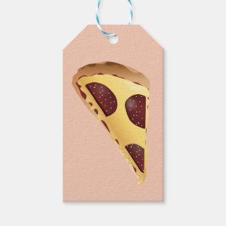 Pizza para la gente etiquetas para regalos
