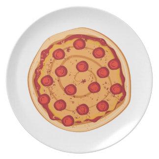 Platos rebanada de pizza for Platos de pizza