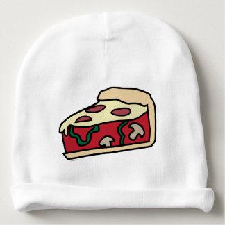 Pizza profunda del plato del estilo de Chicago Gorrito Para Bebe