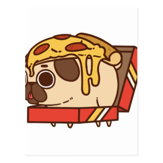 Pizza Pug-01 Postal