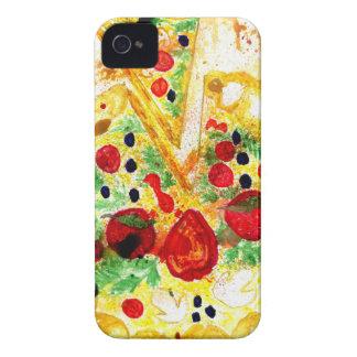 Pizza sabrosa funda para iPhone 4 de Case-Mate