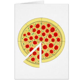 Pizza Tarjeta