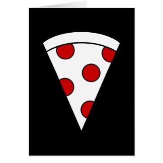 pizza tarjeta pequeña
