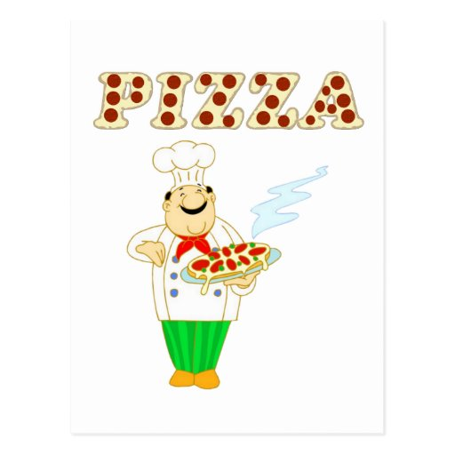 Pizza Tarjeta Postal