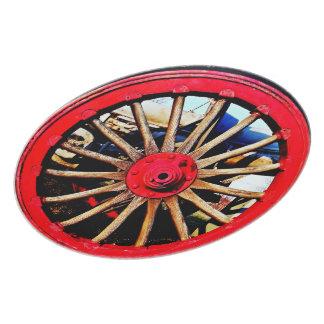 Placa armada de la rueda plato de comida