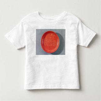 Placa con el texto céltico, 1ro-2do siglo camisas