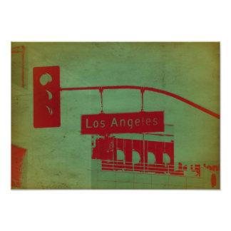 Placa de calle en Los Ángeles Arte Fotográfico